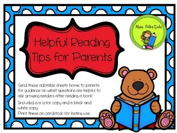 Helpful Reading Tips for Parents