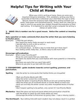 Helpful Tips for Writing at Home