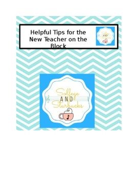 Helpful Tips for the New Teacher on the Block