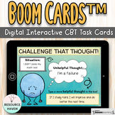 Challenge That Thought! CBT Based Digital Boom Cards™ Activity