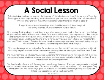 Helpful or Hurtful? A Social Lesson