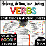 Helping and Linking Verbs Task Cards and Anchor Charts
