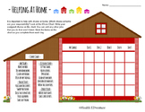 Chore Chart: Responsibility and Helping at Home