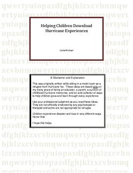 Helping Children Download Hurricane Experiences