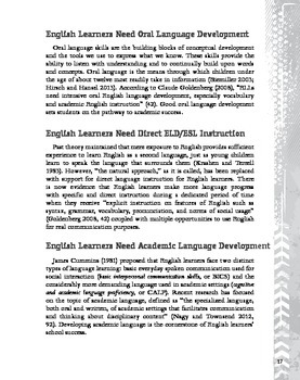 Helping English Language Learners Succeed (eBook)