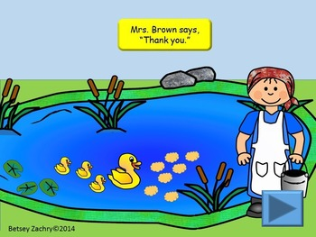 Helping Farmer Brown Colors, Shapes, and Patterns Interactive PowerPoint
