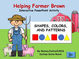 Helping Farmer Brown Colors, Shapes, and Patterns Interact