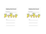 Helping Hand Award