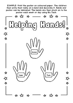 Helping Hands -  Stars of the Day, Helpers