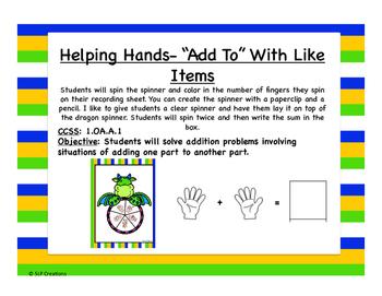 Helping Hands (Adding)