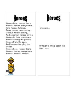 Helping Hands Change the World A Thematic Unit on Heroes