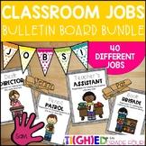 Helping Hands Classroom Jobs Bulletin Board Bundle