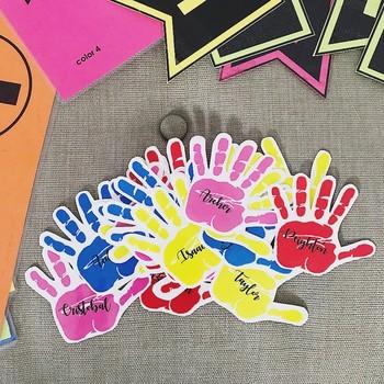 Helping Hands Template - Classroom Jobs
