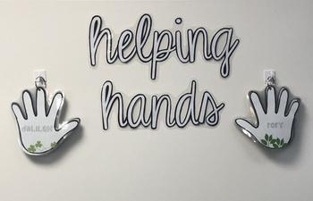 Helping Hands classroom jobs chart
