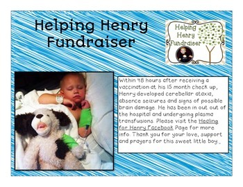Helping Henry Fundraiser Bundle - Credits