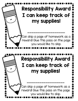 Helping Kids Keep Track of Their Pencils!