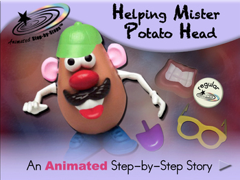 Helping Mister Potato Head - Animated Step-by-Step Story - Regular