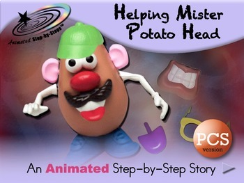Helping Mister Potato Head Animated Step By Step Story Pcs By Bloom