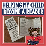 Helping My Child Become a Reader Brochure for Parent Involvement