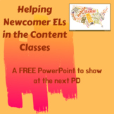 Helping Newcomer ELs in the Content Classroom