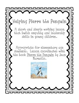 Helping Pierre the Penguin