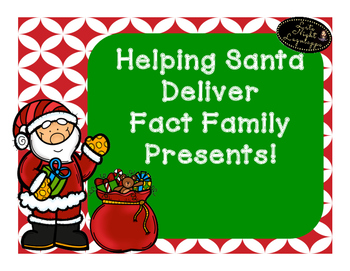 Helping Santa Deliver Fact Family Presents!
