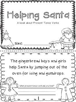 Helping Santa {present-tense verbs}