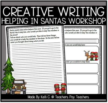 December Narrative Writing- Helping a Reindeer or an Elf I