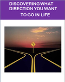 Discovering what direction you want to go in life, lesson, 3 activities