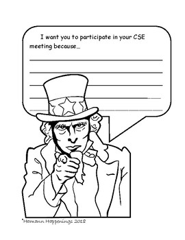 Helping Students Participate in Their CSE Meetings