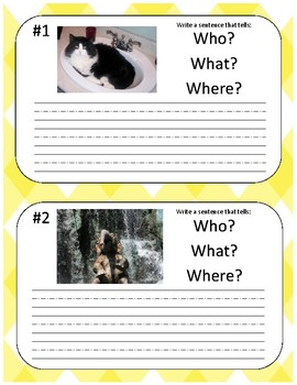 Helping Students Write More Descriptive/Complex Sentences