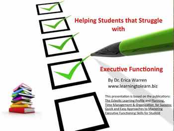 Helping Students that Struggle with Executive Functioning