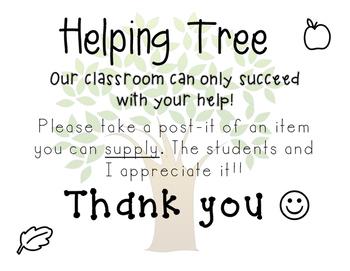 Helping Tree!