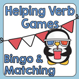 Helping Verb Games | Grammar | Speech Therapy | ESL
