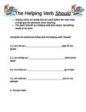 "Helping Verb ""Should"""