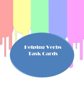 Helping Verb Task Cards