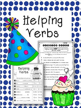 Helping Verb Worksheets. Helping the Action Verb!!