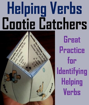 Helping Verbs Activity 2nd 3rd 4th 5th Grade