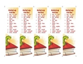 Helping Verbs Bookmark