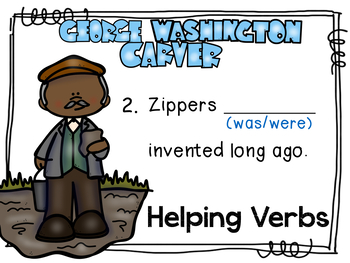 Helping Verbs Digital Center-Reading Street Unit 3 Week 5 A Weed is a Flower