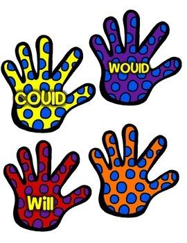 Helping Verbs Hands