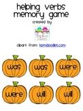 Helping Verbs Memory Game