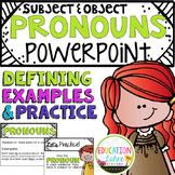 Pronouns {Subject & Object}