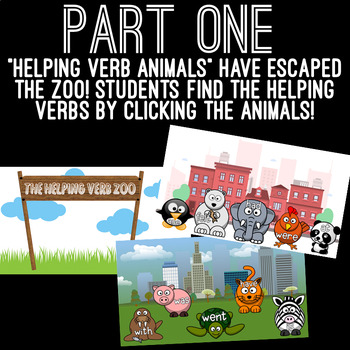 Helping Verbs Powerpoint Game