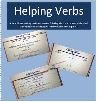 Helping Verbs SmartBoard