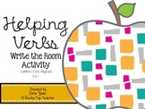 Helping Verbs Write the Room Activity