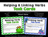 Helping Verbs and Linking Verbs Task Cards - Scoot Game