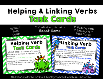 Linking Verb Game Teaching Resources Teachers Pay Teachers