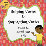 Helping Verbs and Non-Action Verbs Activities