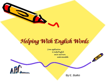 Helping With English Words